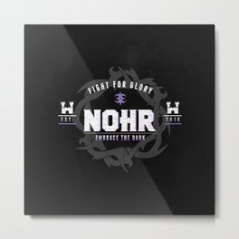 Fight for Nohr! Metal Print