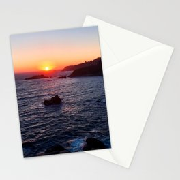 Ragged Point Sunset Stationery Cards