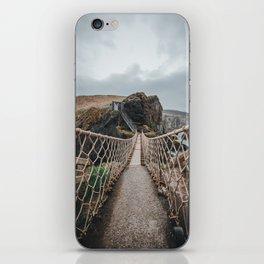 Carrick-a-Rede iPhone Skin