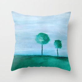 Peaceful Dreams on Hanover Hill Throw Pillow