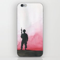 Lone Soldier iPhone & iPod Skin