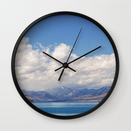 Lake Tekapo 1 Wall Clock