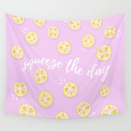 Squeeze The Day | Lemons Wall Tapestry