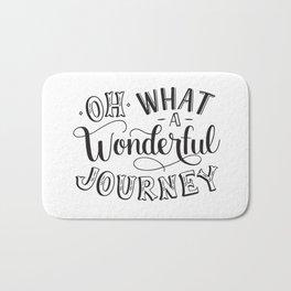 Oh What a Wonderful Journey Bath Mat
