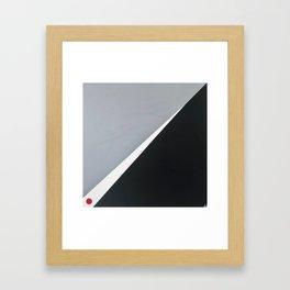 'London' Abstract acrylic on canvas Framed Art Print