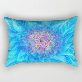 Fractal Flower 2 Rectangular Pillow