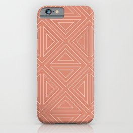 Angled Rose iPhone Case