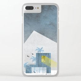homecomers of the arctic tree line Clear iPhone Case