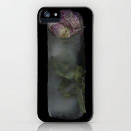 Frozen Bloom iPhone Case