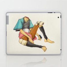 When I Was Little, My Father Was Famous. (No type) Laptop & iPad Skin