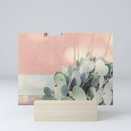 Scenes from Marfa II x Pink Cactus Art Mini Art Print