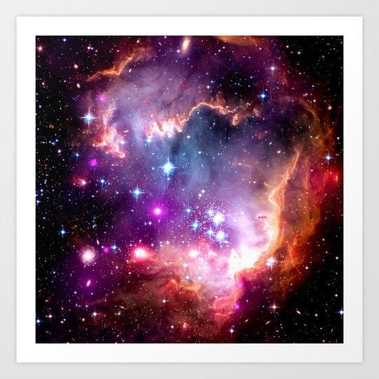 Deep Space Dream Art Print