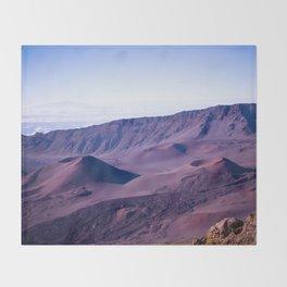 Haleakalā Sunrise On The Summit Maui Hawaii Kalahaku Throw Blanket