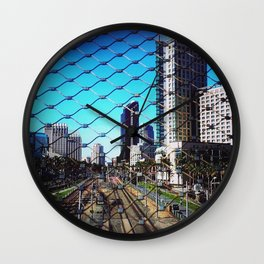 San Diego. My Home...My Prison Wall Clock