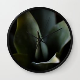 Aloe Plant Wall Clock