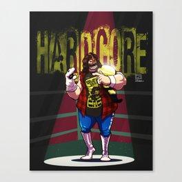 Mick Foley - Hardcore Canvas Print