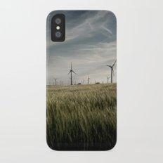 Wind mils iPhone X Slim Case