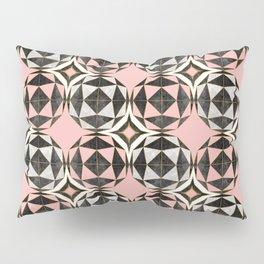 Geodesic Optic Roses Pillow Sham