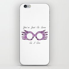 Just as Sane as I Am iPhone & iPod Skin