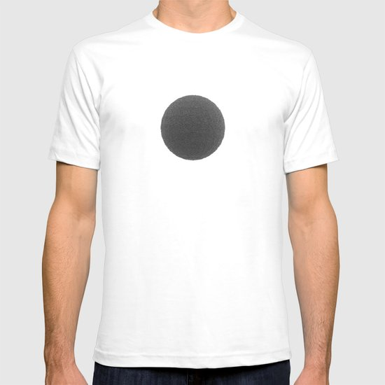 Black sphere T-shirt