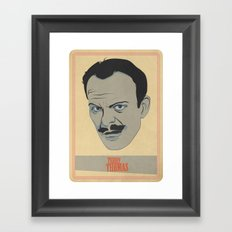 Terry Framed Art Print