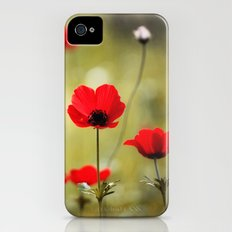 Wild Anemones Slim Case iPhone (4, 4s)