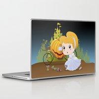 cinderella Laptop & iPad Skins featuring Cinderella by 7pk2 online