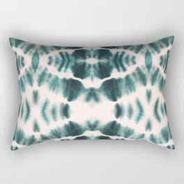 BOHEMIAN EMERALD SHIBORI Rectangular Pillow