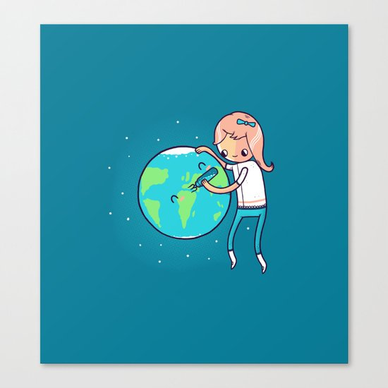 Earth Mother Canvas Print