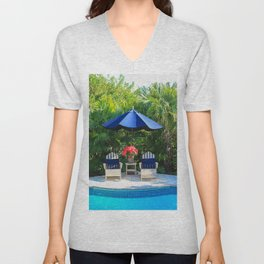 Warm Winter Welcome Unisex V-Neck