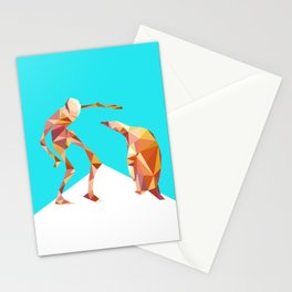 Electric Pinguin Stationery Cards