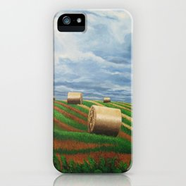 Stormy Harvest iPhone Case