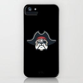 Pirate Bulldog For Halloween iPhone Case