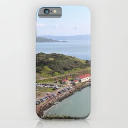 Horseshoe Bay Golden Gate Bridge View | San Francisco, California | Travel Landscape Photography iPhone Case