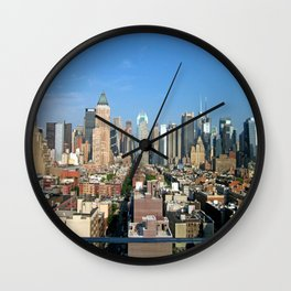 NYC III Wall Clock
