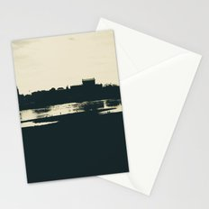 Silhouette des Dresdener Elbufers Stationery Cards