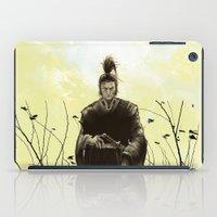 samurai iPad Cases featuring Samurai by Tony Vazquez