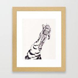 DIY Joy Ride Framed Art Print