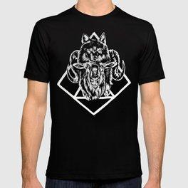 Goat as wolf T-shirt