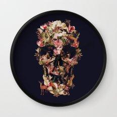 Jungle Skull Wall Clock