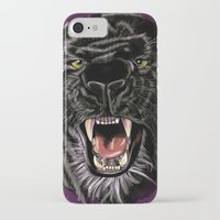 panther iPhone & iPod Cases featuring Panther by Tish