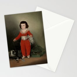 "Francisco Goya ""Manuel Osorio Manrique de Zuñiga"" Stationery Cards"