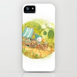 On the Road ! iPhone Case