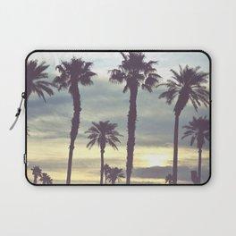 Los Angeles Sunset Palm Trees Laptop Sleeve