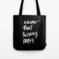 CARPE / brush test version Tote Bag