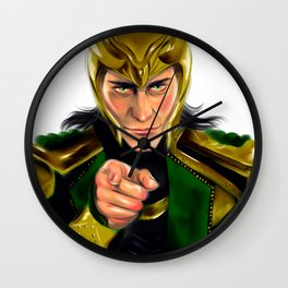 Loki wants you Wall Clock