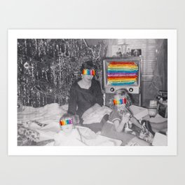 Technicolor Dreams Art Print