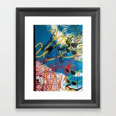 DRAGON/ SKY Framed Art Print