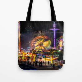 Fairground Attraction panorama Tote Bag