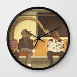 Dino Subway Wall Clock